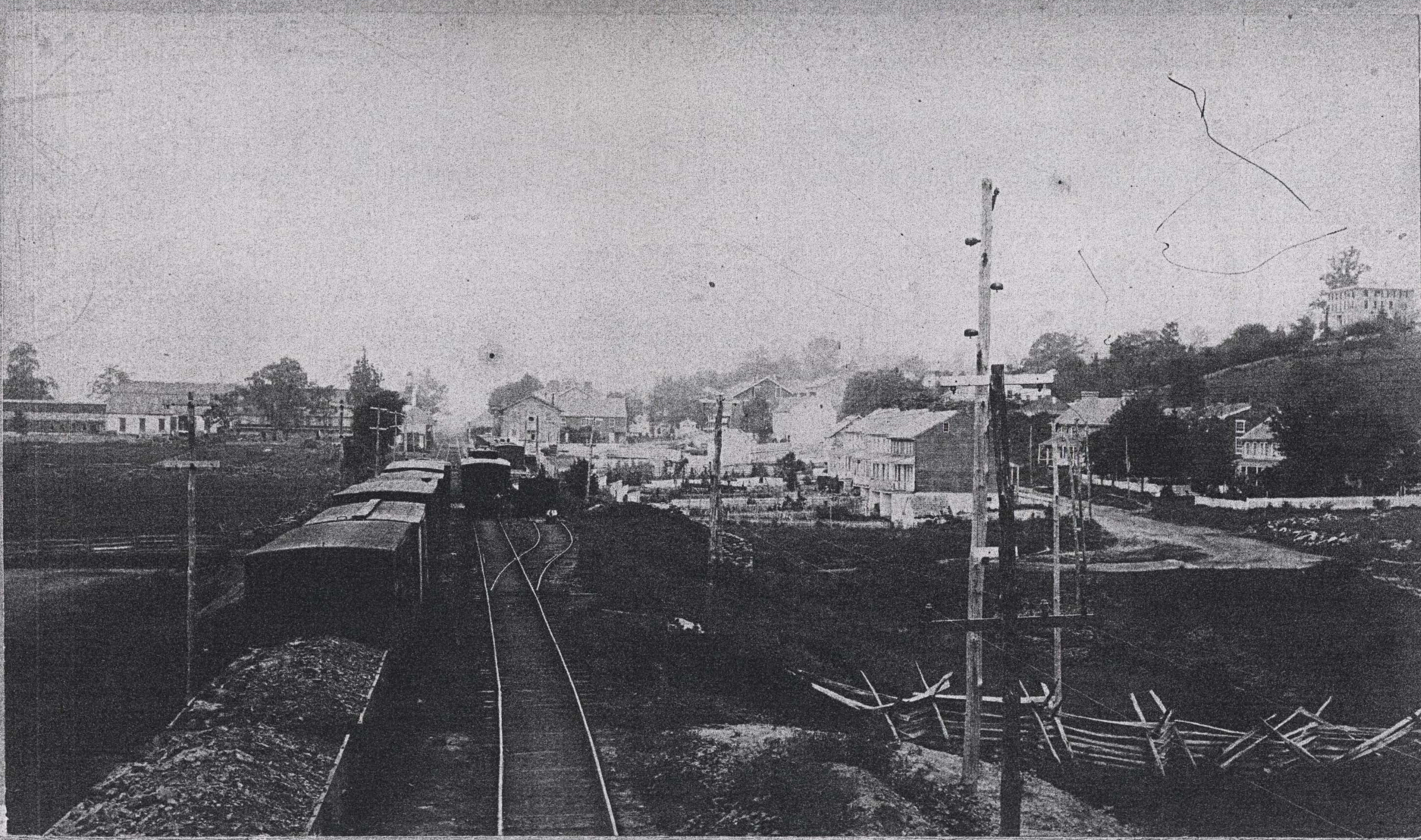 Railroad 1860's
